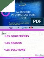 La Sécurité Info Pour Tous - OPEN DAYS 2014