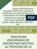 Conceptos Básicos de Tanatología