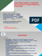 Peru Wealth Report 2014