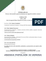 Il Diritto nella rete Privacy e dati sensibili
