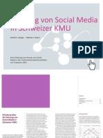 Nutzung Von Social Media in Schweizer KMU