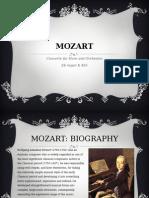 Mozart Horn Concerto Powepoint