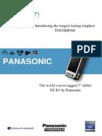 Panasonic FZ-E1 Datasheet