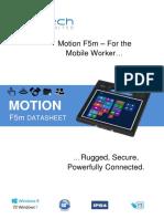 Motion F5m Datasheet