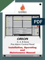 Manual Instalare Centrala Conventioanala Microprocesor 2zone 32 Detectectori 32butoane Global Fire