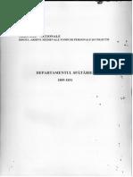 Departamentul Spatariei. 1809-1831. Inv. 904