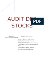 Audit Des Stocks