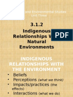 3 1 2 1 indigenous relationships with the environment 2014