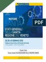 2015 Motore Sanità - Dott. Claudio Costa