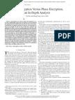 XOR Encryption Versus Phase Encryption, An in-Depth Analysis