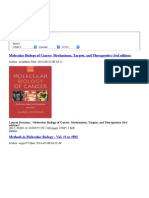 Molecular Biology of Cancer_ Mechanisms, Targets, And Therapeutics