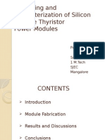 Packaging and Characterization of Silicon Carbide Thyristor