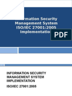 ISO 27001-2005 Implementation Course