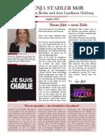 Newsletter Svenja Stadler 01 2015