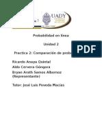 Probabilidad práctica 2
