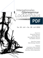 Int. Gitarreseminar Lockenhaus 2002
