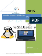 Gaussian Frequency-shift Keying With GNU Radio