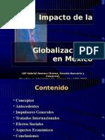 Impacto de la globalización, presentación
