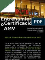 Presentación Entrenamiento ExAMV