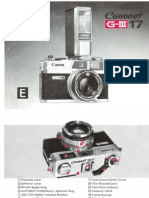 Canonet G-III 17 Manual