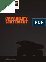 MPE CapabilityStatement