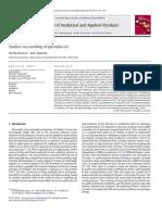 BISWAS , SHARMA 2013 Studies on Cracking of Jatropha Oil.