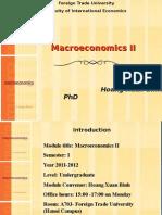 Macroeconomics II