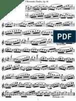 Kohler Romantic Etudes for Flute