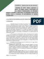 TEMA 1 JUNTA ANDALUCIA 2013 Constitucion Dchos Deberes