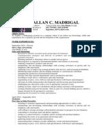 Allan_madrigal CV 2014