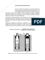 Extraccion de Nucleo de Roca