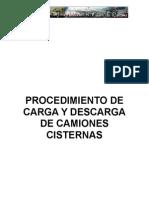 Procedimiento de Carga y Descarga de Camiones Cisterna