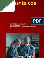 Anestesicos Generales y Locales Est. Medicina 2010