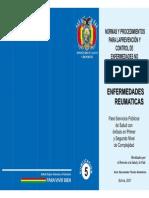 Normas y Procedimientos para la prevencion de control de enfermedades no transmisibles y sus factores de riesgo - Enfermedades Reumaticas