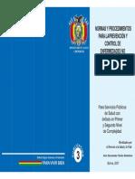 Normas y Procedimientos para la prevencion de control de enfermedades no transmisibles y sus factores de riesgo