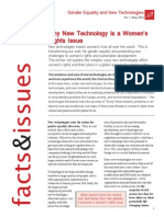 Why New Technology is a Women's Rights Issue Facts Issues 7