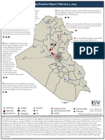 Iraq Situation Report 2/2/2015