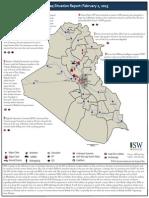 Iraq Situation Report 2/2/2015