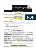 3º Jornada Investigaciòn Madariaga 2010