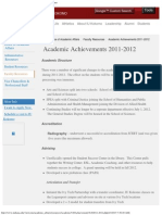 Michael Harris IU Kokomo, Academic Achievements 2011 - 2012, Michael Harris Chancellor