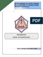 Telecomunicaciones i Guia Didacica 2013 Elt-ueb 2013