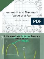Minimum and Maximum Value of a Fnx.pptx