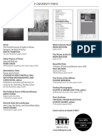 Duke University Press program ad for the College Art Association conference 2015