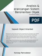 Pengenalan Sistem Berbasis Objek