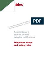 Catalogo-Acometidas y Cables de Uso Interior Telefonico
