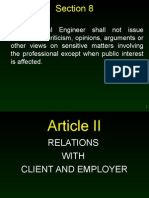 Code of Ethics Report