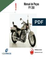 Manual de Peças FYM 250