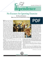 Aging and Independence Services • January • Ebulletin