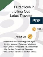 BLUG-LotusTraveler.ppt