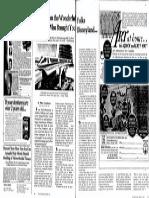 Disney World Opening Newspaper